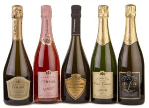 Tasting of 4  Champagnes